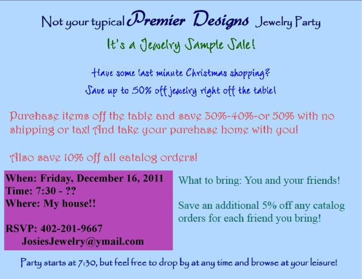 Premier designs jewelry josies jewelry if you need my address or directions let me know stopboris Images